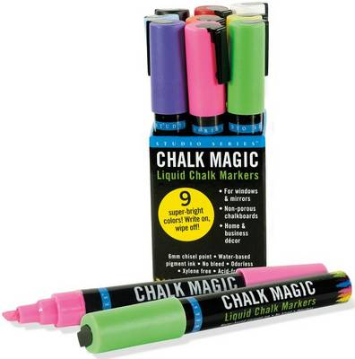 Picture of Chalk Magic Liquid Chalk Marker Set (Set of 9 Markers)