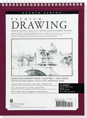 Picture of Large Premium Drawing Pad 9  X 12