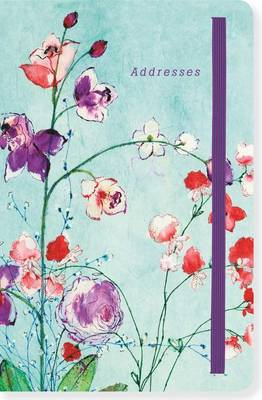 Picture of Fuchsia Blooms Address Book