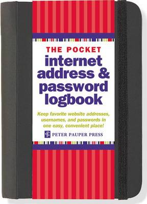 Picture of The Pocket Internet Address & Password Logbook