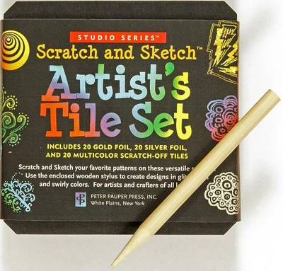 Picture of Studio Series Artist's Tiles: Scratch & Sketch (60 Pack)