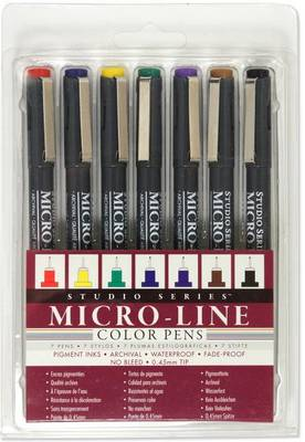 Picture of Studio Series Colored Micro-Line Pen Set (Set of 7)