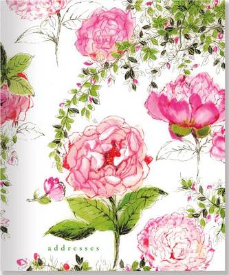 Picture of Rose Garden Large Address Book