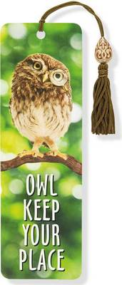 Picture of Owl Keep Your Place Beaded Bookmark