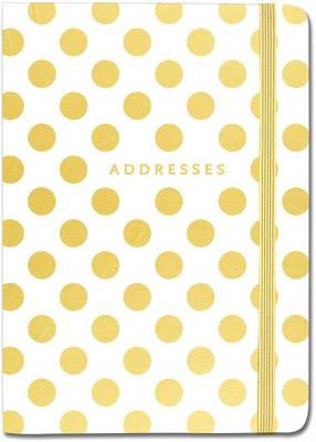 Picture of Gold Dots Address Book