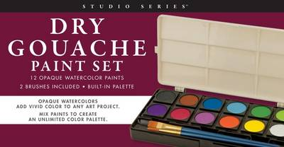 Picture of Studio Series Dry Gouache Paint Set (12 Opaque Watercolor Paints)