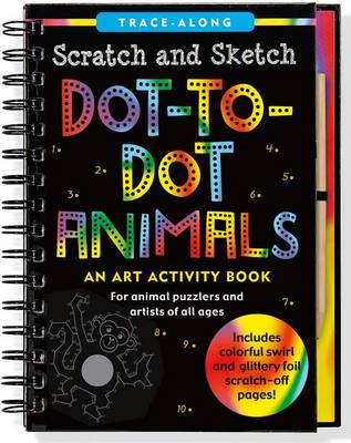 Picture of Scratch & Sketch Dot-To-Dot Animals (Trace-Along)