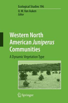 Picture of Western North American Juniperus Communities: A Dynamic Vegetation Type
