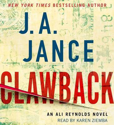 Picture of Clawback: An Ali Reynolds Novel