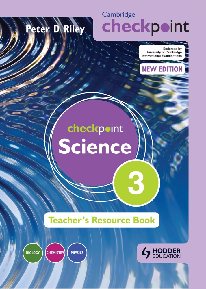 Picture of Cambridge Checkpoint Science Teacher's Resource Book 3