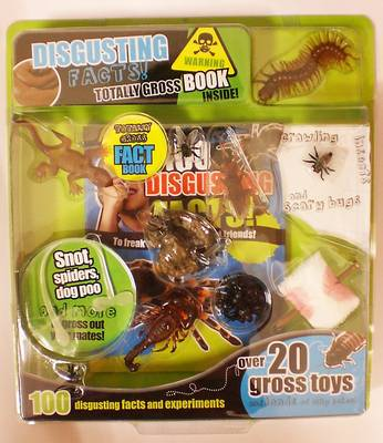 Picture of Disgusting Things Large Blister Pack