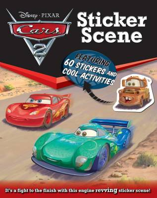 Picture of Disney Sticker Scene Cars 2