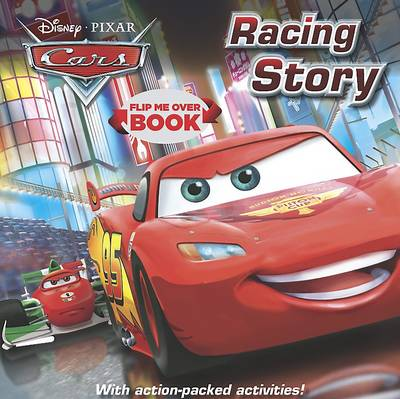 Picture of Disney Cars Flip Me Over - Activity and Story Book