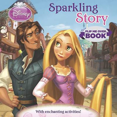 Picture of Disney Princess Flip Me Over - Activity and Story Book