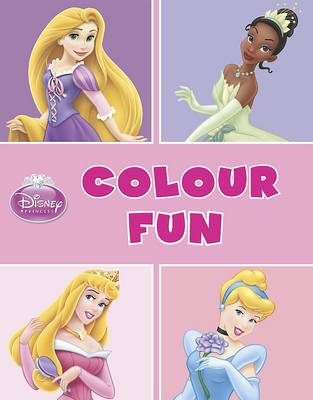 Picture of Disney Princess Colour Fun