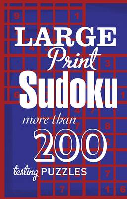 Picture of Large Print Sudoku