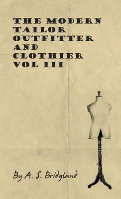 Picture of The Modern Tailor Outfitter And Clothier - Vol III
