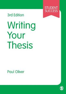 Picture of Writing Your Thesis