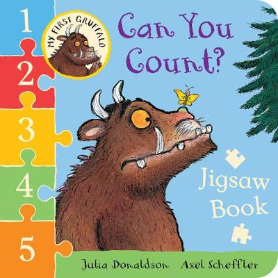Picture of My First Gruffalo: Can You Count? Jigsaw Book