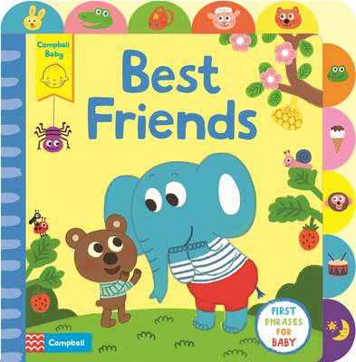 Picture of Best Friends: A Little Tab Book for Older Babies