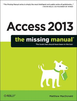 Picture of Access 2013 The Missing Manual