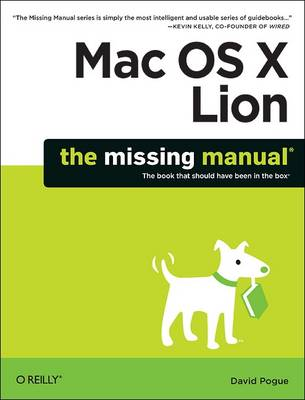 Picture of Mac OS X Lion: The Missing Manual