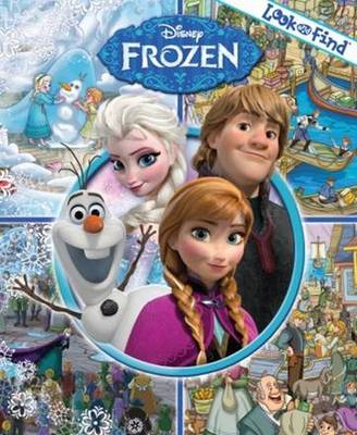 Picture of Disney Frozen look and find