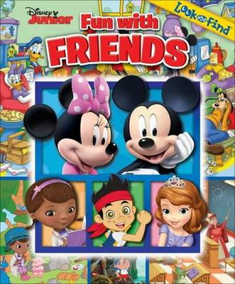 Picture of Disney Junior Fun with Friends Look & Find