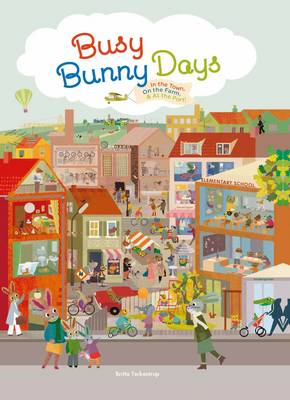 Picture of Busy Bunny Days: In the Town, on the Farm & at the Port