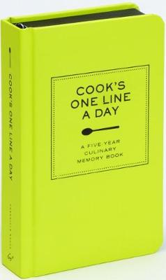 Picture of Cook's One Line a Day: A Five-Year Culinary Memory Book