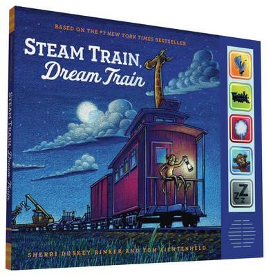 Picture of Steam Train, Dream Train Sound Book