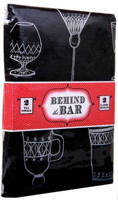 Picture of Behind the Bar: 2 Tea Towels, 2 Classic Designs
