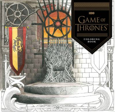 Picture of HBO's Game of Thrones Coloring Book