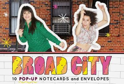 Picture of Broad City Pop-Up Notecards: 10 Pop-Up Notecards & Envelopes