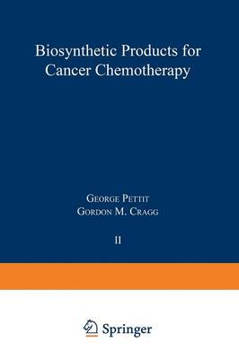 Picture of Biosynthetic Products for Cancer Chemotherapy: Volume 2