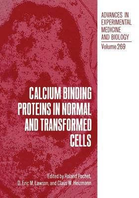 Picture of Calcium Binding Proteins in Normal and Transformed Cells