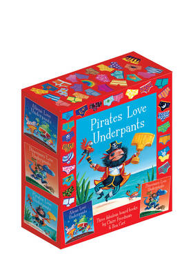 Picture of The Underpants Board Book slipcase