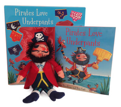 Picture of Pirates Love Underpants Book & Plush