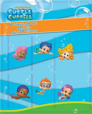 Picture of Bubble Guppies Mini Colouring Book & Pencil Set