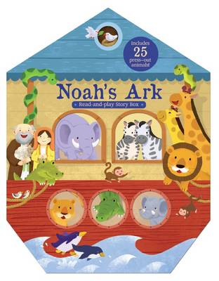 Picture of Noah's Ark Read-and-play Story Box (Activity Book and Play Set with 25 Press-out Animals)