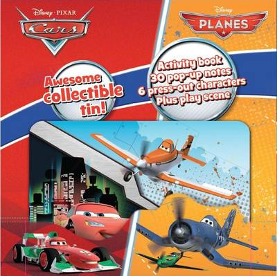 Picture of Disney Planes & Cars Mini Tin of Pop Ups
