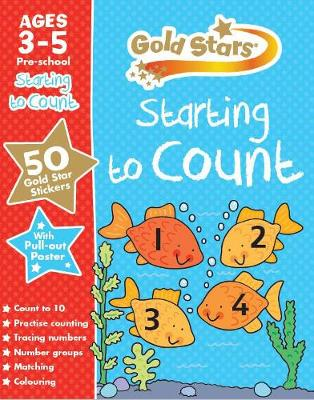 Picture of Gold Stars Starting to Count Ages 3-5 Pre-School