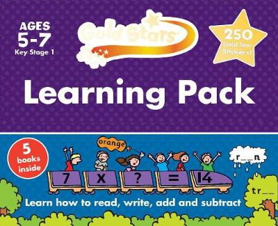 Picture of Gold Stars Learning Pack Ages 5-7 Key Stage 1: Learn How to Read, Write, Add and Substract