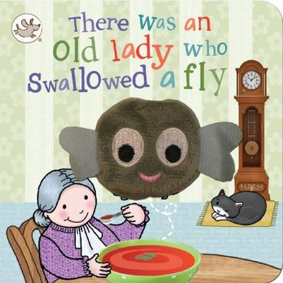 Picture of Finger Puppet Book There Was an Old Lady Who Swallowed a Fly