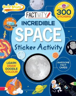 Picture of Gold Stars Factivity Incredible Space Sticker Activity