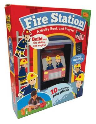 Picture of Fire Station Activity Book and Playset