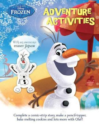 Picture of Disney Frozen Adventure Activities: With an Awesome Eraser Jigsaw!