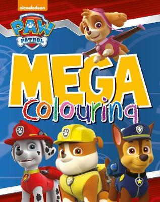Picture of Nickelodeon Paw Patrol Mega Colouring