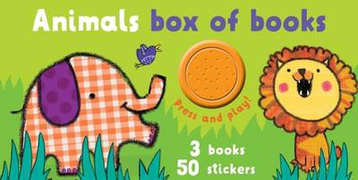 Block Book and Sound Boxset Animals