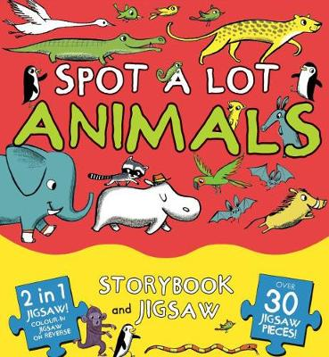Picture of Spot a Lot Animals: Storybook and Jigsaw